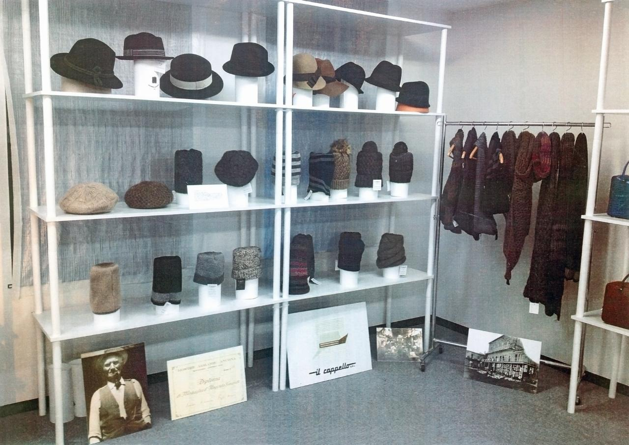 Il cappello: lo showroom diTokio
